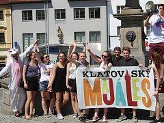 V Klatovech se v pátek 19. května konal majáles.