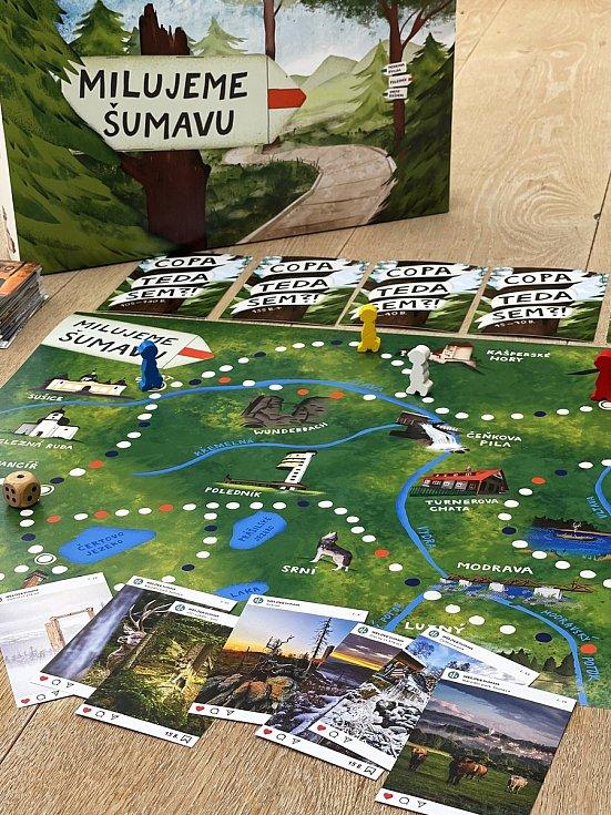 Nová hra od WeLoveŠumava Milujeme Šumavu.