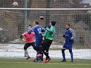 Příprava na fotbalové jaro 2018: Sušice (modré dresy) - Košutka Plzeň