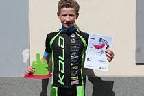 Matyáš Fiala z klatovské stáje Cyklosport - Pitstop.cz vybojoval na ME horských kol v rakouském Grazu v kategorii U15 desáté místo. V soutěži týmů byla Česká republika A s Matyášem třetí.