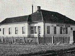Dobový snímek mlékárny v Klatovech