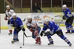 Krajská soutěž 2017/2018 - play-off: Malá Víska (bílé dresy) - Klabava