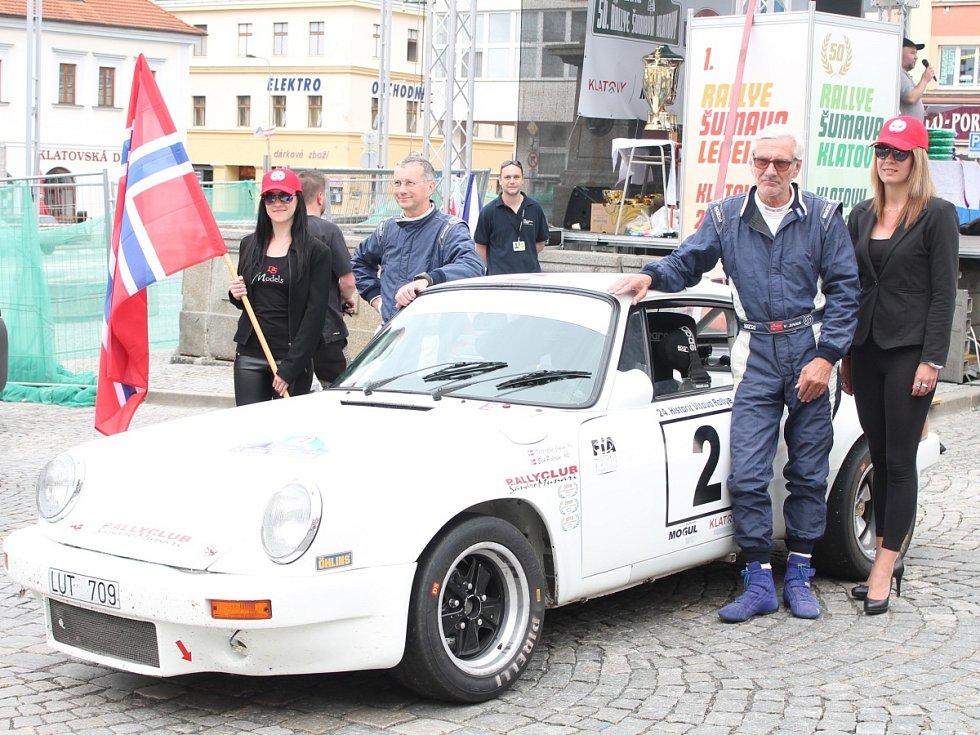 Cíl 24. Historic Vltava Rallye.