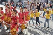 Zahájení poutě a folklorního festivalu v Klatovech 2016.