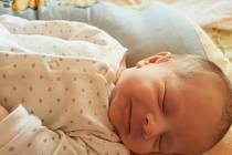 Šimon Vondryska z Radinov se narodil v klatovské porodnici 23. září 2020 v 18:20 hodin. Prvorozený syn vážil 3640 gramů a měřil 53 centimetrů.
