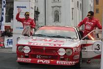 Předstartovní show 48. Rallye Šumava Klatovy a 22. Historic Vltava Rallye.