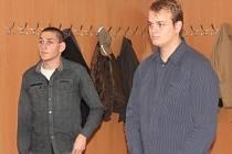 Stanislav Buriánek (vlevo) z Rabí a Tomáš Pikl z Blatné u klatovského soudu