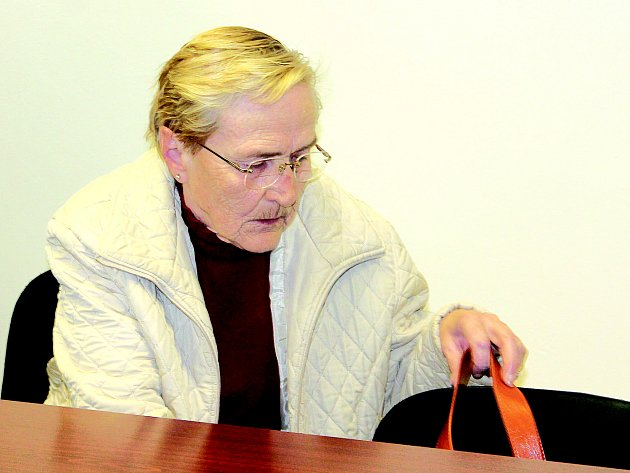 Alena Kostrbová ze Sušice u Okresního soudu v Klatovech.