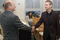 Klatovské gymnázium ocenilo úspěšné studenty