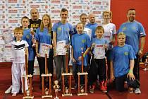 Kickboxeři z klubu Hammersgym Běhařov.