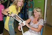 Učitelé se nacvičovali i obvazování ran.