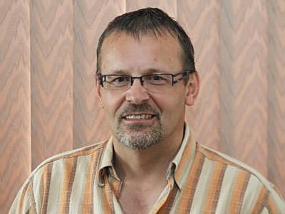 Předseda Historic clubu PAMK Klatovy Jiří Krejčí