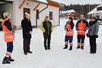 Otevření nového výjezdového místa zdravotnické záchranné služby na Modravě.