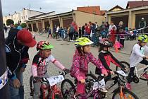 Na Horažďovickém kole se děti bavily.