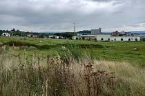 Průmyslová zóna Pod Borem v Klatovech.
