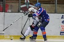 II. liga, skupina Západ, 31. kolo SHC Klatovy - HC Řisuty 3:2 PP.