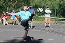 Nohejbalový turnaj v Břežanech