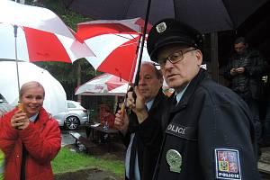 Snímky z prvního dílu třetí Řady Policie Modrava.