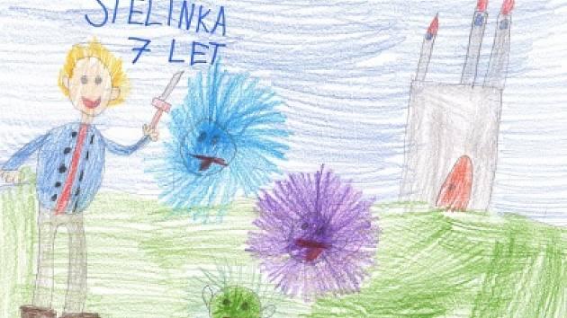 Stelinka Nachtigallová, 7 let.