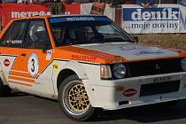 20. Historic Vltava Rallye, RZ 1 - čínovský okruh