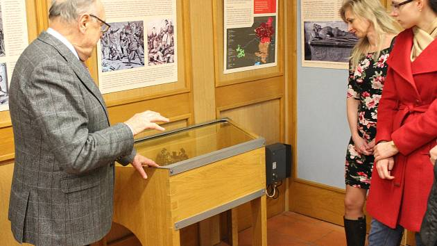 Zahájení výstav k sympoziu o Přemyslu Otakaru II.
