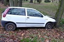 Dopravní nehoda osobního automobilu