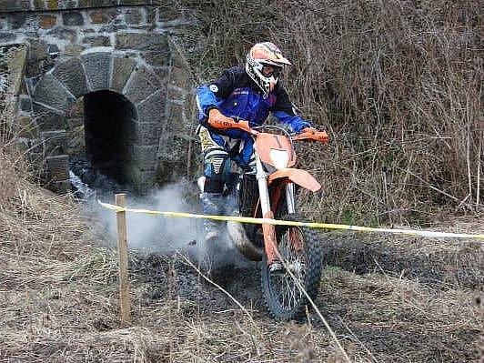 Motocyklová soutěž Klatovské enduro