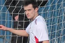 Klatovský fotbalista Václav Sýkora