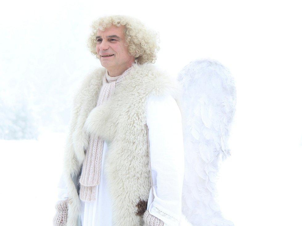 Natáčení Anděla Páně 2 na Zhůří.