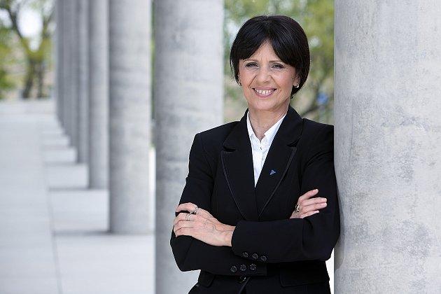 Hejtmanka Plzeňského kraje Ilona Mauritzová.