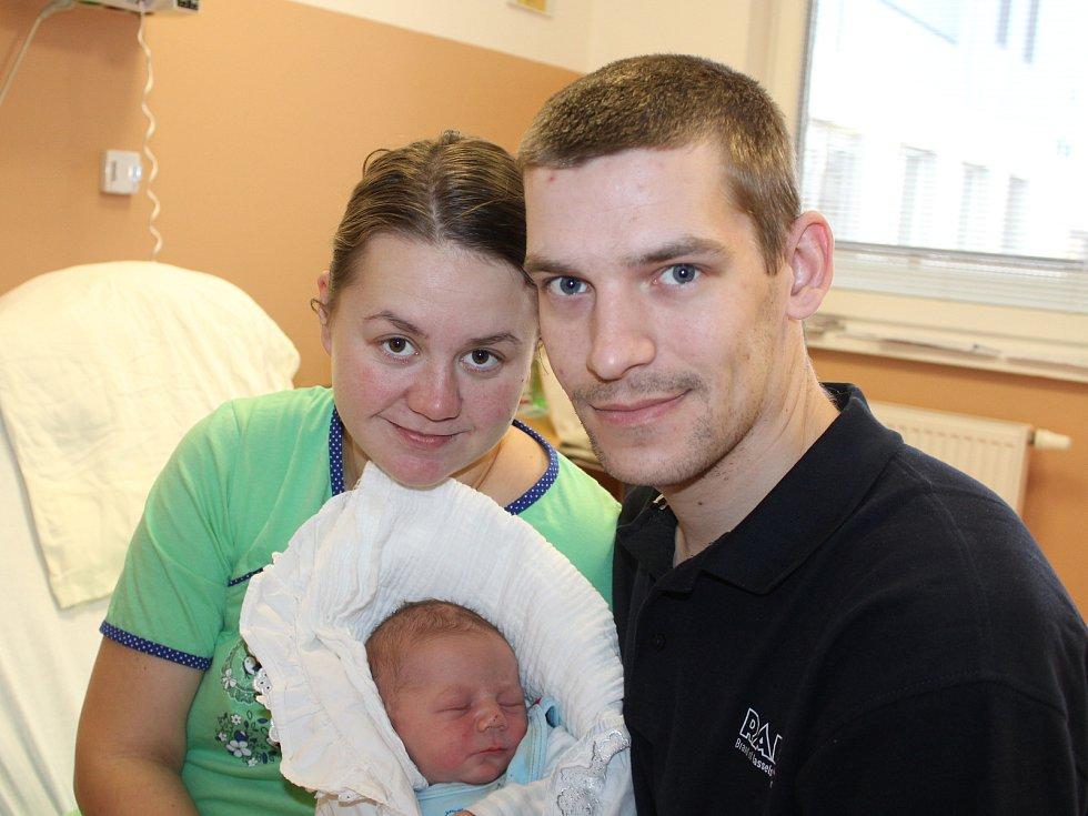 Jiří Matějka z Chlumčan se narodil v klatovské porodnici 17. února v 11:42 hodin (4180 g, 53 cm). Rodiče Veronika a Jiří dopředu věděli, že jejich prvorozeným miminkem bude chlapeček.