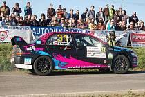 46. Mogul Rallye Šumava Klatovy, RZ 1 - čínovský okruh