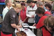 Soutěž o nejlepší pečenou kachnu a farmářské trhy v Sušici