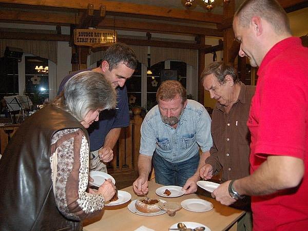 Soutěž O nejlepší šumavský gulášek na Belvederu
