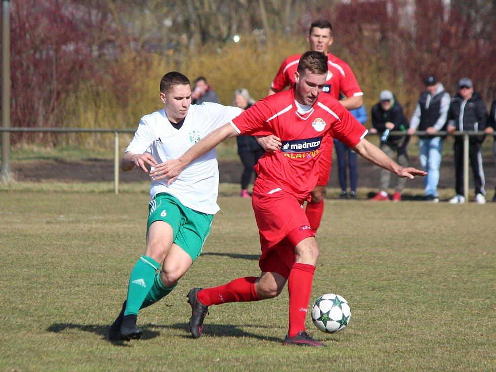 Divize 2017/2018: Klatovy (červené dresy) - Jankov 2:2, na PK 5:4