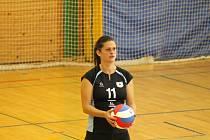 Klatovská volejbalistka Tereza Egerová.