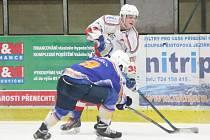 Liga juniorů: HC Klatovy (bílé dresy) - HC Klášterec nad Ohří 10:6