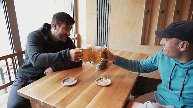 Marek Ztracený na pivní stezce.