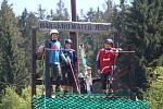 Harakiri water jump na Samotách.
