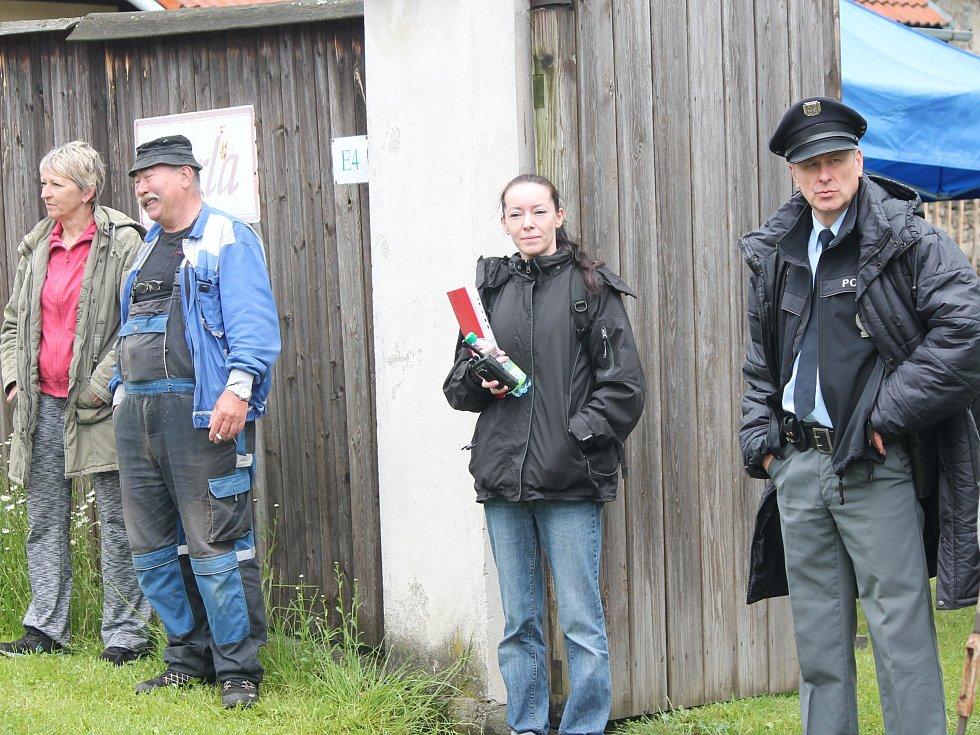 Natáčení nových dílů seriálu Policie Modrava.