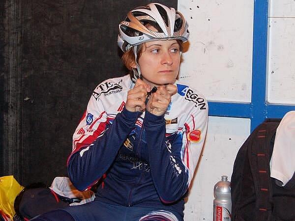 Na sušickém stadionu trénovala Martina Sáblíková