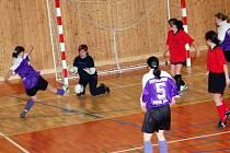 V posledním utkání soutěžního ročníku 2008/2009 zimní Dívčí amatérské fotbalové ligy hráčky PS Křeč Mochtín na palubovce  plánické sportovní haly  porazily v boji o konečné páté místo těsně 8:7 Kobru Bolešiny B