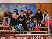 Kvalifikace o extraligu kadetek U17 2018/2019: BK Klatovy (červené dresy) - SBŠ Ostrava