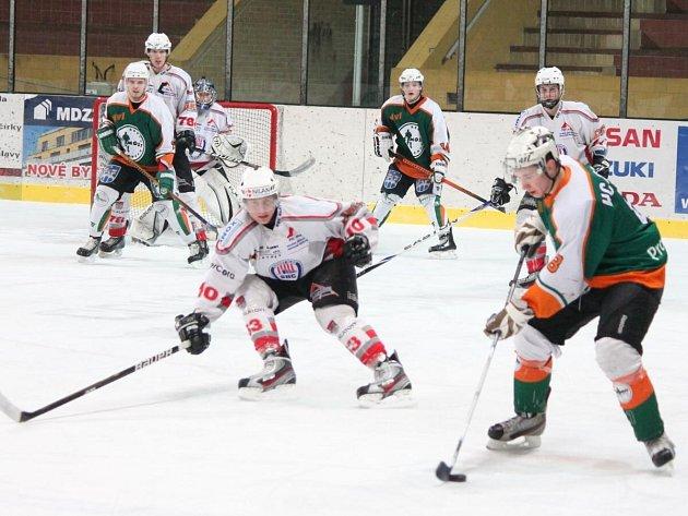 Liga juniorů HC Klatovy - HC Most 6:4.