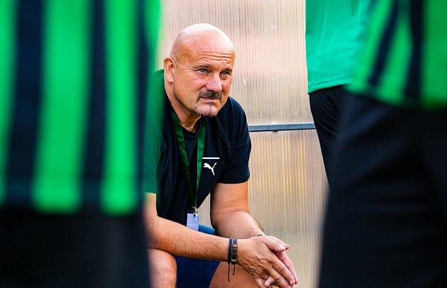 Trenér FC Rokycany Milan Dejmek.