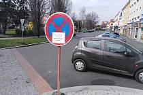 Začíná oprava Pražské ulice v Klatovech a Rybníčků.