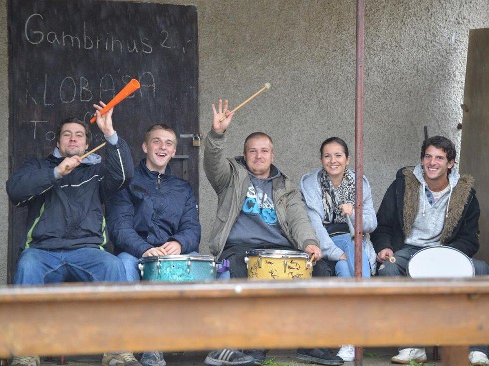 Okresní přebor mužů Běšiny - Chanovice 0:0.