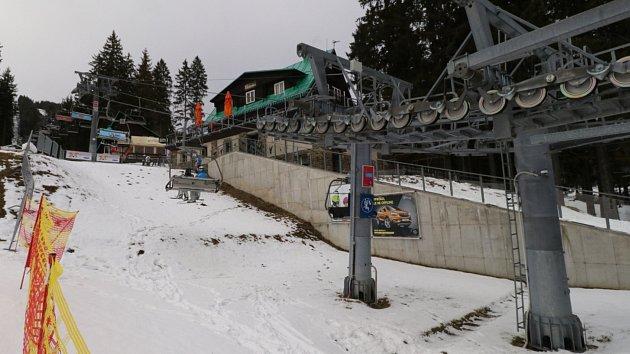 Fotoreportáž z areálu Ski&Bike Špičák