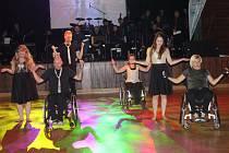 Ples handicapovaných v Klatovech.