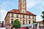 Hasiči v Sušici oslavili 140 let, cvičně přitom zapálili radnici